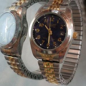 Women Waltham Prestige Watch Vintage Gold Plated